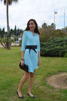 Robe bleu ciel 3suisses