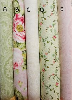 Hopelessly Romantic by Northcott, Shabby Chic, Romantic fat quarters Easy Sewing Patterns, Fabric Patterns, Sewing Ideas, Sewing Crafts, Sewing Projects, Art Projects, Fabric Outlet, Vintage Floral Fabric, Shabby Fabrics