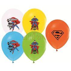 Süperman Baskılı Latex Balon - 2.90 ₺