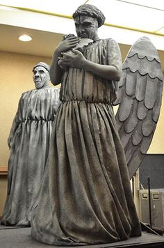 Here we go - the Weeping Angels costuming tutorial!    I think that this blog entry took me more time and brainpower to write, than anything else on the site... yikes! LOL.    Please be sure to share this one far and wide! :)  Please and thank you!