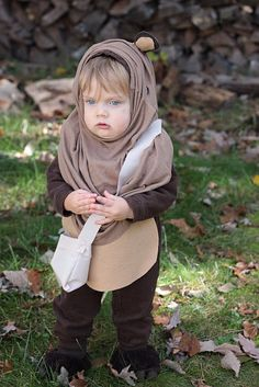 An Ewok costume DIY for the kids Check out your local Goodwill for all of your  sc 1 st  Pinterest & How to Make a Star Wars Ewok Costume for Kids   Pinterest   Ewok ...