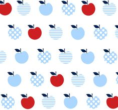 Apple fabric - #oobibaby