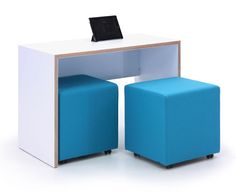 Box-It Modular Seating & Tables range consists of simple yet flexible, fun and funky, angular yet soft seats, and tables, which can be re-configured continuously to meet the demands of informal meeting spaces. Office Seating, Office Table, Waiting Area, Dining Tables, Office Furniture, Meet, Range, Spaces, Box