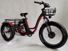 fat tire electric tricycle trike
