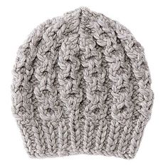 Knitting Pattern: Thick Hat with Cable Knit Knitting Designs, Knitting Patterns Free, Knitting Projects, Embroidery On Clothes, Embroidered Clothes, Knitting For Kids, Easy Knitting, Cable Knitting, Knitted Headband