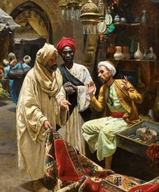 Orientalist art and artists; Paintings; East-West The Art of Dialogue