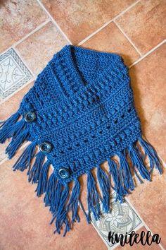 boho cowl crochet