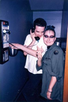 Robert Smith having fun w/Corrinne at Midtown Cafe Fever Ray, What About Bob, Robert Smith The Cure, Goth Music, I Robert, Beautiful Lyrics, The New Wave, A Perfect Circle, Feeling Sick