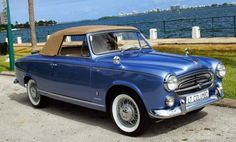 1959 Peugeot 403 Cabriolet  Maintenance/restoration of old/vintage vehicles: the material for new cogs/casters/gears/pads could be cast polyamide which I (Cast polyamide) can produce. My contact: tatjana.alic@windowslive.com