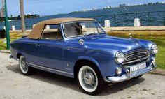 1959 Peugeot 403 Cabriolet Grand Luxe by Pininfarina Colombo TV Series Car Peugeot 403, Psa Peugeot Citroen, American Graffiti, 403 Cabriolet, Convertible, Vintage Cars, Antique Cars, Peugeot France, Fiat Cars