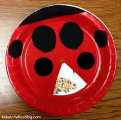 ladybug life cycle science craft