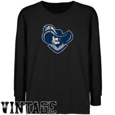 NCAA Xavier Musketeers Youth Black Distressed Logo Vintage T-shirt - http://www.cincyshop.net/cincinnati-sports/xavier-university/ncaa-xavier-musketeers-youth-black-distressed-logo-vintage-t-shirt/