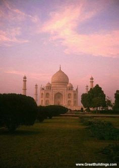 Taj Mahal (I remember slaving over a poster painting this in 7th grade!)