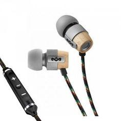 MARLEY Redemption Song In-Ear Kopfhörer mit Mikrofon bei www.StyleMyPhone.de Ipod, Samsung, Home Buying, In Ear Headphones, Apple, Songs, Button, Slipcovers, Speakers