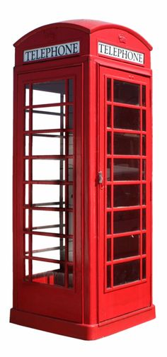 I saw a London phone booth CLOSET today.  A stand-alone little 5' high closet.  One could line the glass with black fabric and put anything inside it.  I want it...
