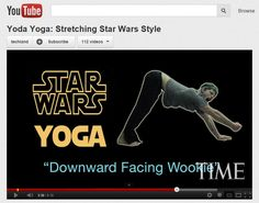 May the 4th be with you ~ celebrate Star Wars day with space-themed kids yoga lesson plan ideas ~ 3...2...1.... Blastoff! Ideas for an Outer Space Kids Yoga Class