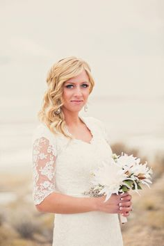 Winter Bridal Shoot by Stephanie Sunderland