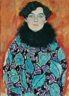 Johanna Staude, 1917 by Gustav Klimt
