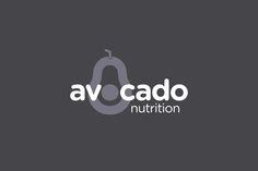 Avocado Nutrition brand identity | SALT Design #branddesign #logo #nutritionaltherapy #avocado