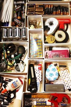 This Is the Most Organized Junk Drawer We've Ever Seen