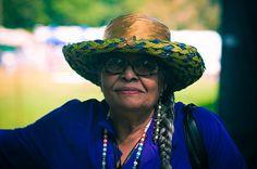 Elder lady ~ SHINNECOCK NATION POW-WOW, Eastern Long Island, NY, USA