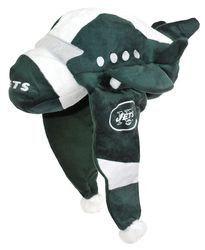 New York Jets Mascot Themed Dangle Hat
