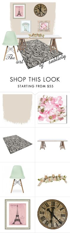 """""""The Art of Subtlety"""" by kern8-13 ❤ liked on Polyvore featuring interior, interiors, interior design, home, home decor, interior decorating, Oliver Gal Artist Co., Ciel, Vintage Print Gallery and West Elm"""