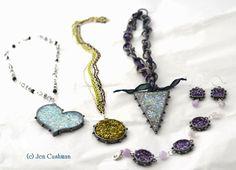 faux druzy opal Jen Cushman ICE Resin