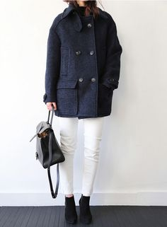 """death-by-elocution: """"Great pea coat. """""""