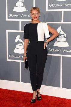 Alfombra roja de los Grammy 2013