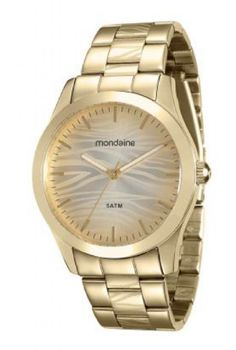 a38d6dab5ac 78709LPMVDA1 Relógio Feminino Mondaine Analógico Dourado - Guest Club
