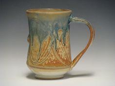 Handmade Ceramic Mug3756 by dragonfliesandmud on Etsy, $22.00