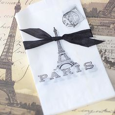 French+Eiffel+Tower+Vellum+Gift+Bags+by+FrenchFleaMarket+on+Etsy,+$5.00