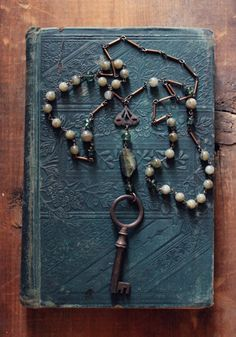 The Esther-Barlow Estate. Antique Skeleton Key Apatite by cloven