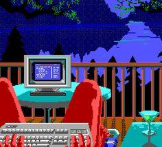 8bit Art, Vaporwave, Beautiful Landscapes, Pixel Art, Larry, Animation, Lettering, 8 Bit, Artist