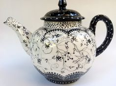 Swirly Tea Pot.
