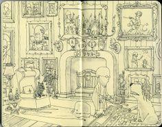Sketchbook Illustrations from Mattias Adolfsson