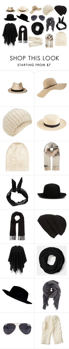 """Black and White"" by mirielanarion on Polyvore featuring moda, Abercrombie & Fitch, Coal, Accessorize, J.Crew, BCBGMAXAZRIA, Warehouse, Boohoo, ISABEL BENENATO i Comptoir Des Cotonniers"
