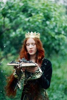 forest maiden, fantasy, medieval, princess, book