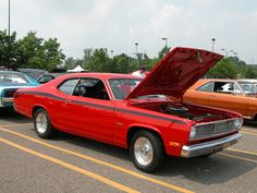 1972 plymouth duster   1972 Plymouth Duster 340 Red fvr 2005 CEMA DSCN5557   Fotos de Carros