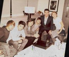 liam, zayn, harry, louis, simon and niall Fetus One Direction, I Love One Direction, Zayn Malik, Niall Horan, Harry Edward Styles, Harry Styles, Way Of Life, My Life, All 4 One