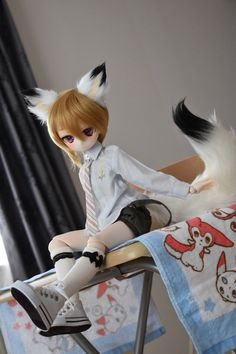 Don't forget to follow me -Abigail Anime Dolls, Plush Dolls, Blythe Dolls, Kawaii Doll, Anime Kawaii, Dainty Doll, Dog Tumblr, Smart Doll, Doll Repaint