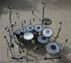 kind of amazing. Every drum is a roto tom. This would be fun to play.