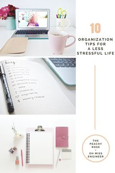 Did you know that being organized can help you to be both happier & more confident? Cluttered spaces, whether in your home, work, or even your mind, can lead to stress, anxiety, self-doubt, & frustration. This post is a collection of my 10 best organization tips that helped me create a less stressful life.