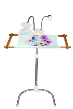 cross stitch stand pvc pipe see more gittas floor lap frames