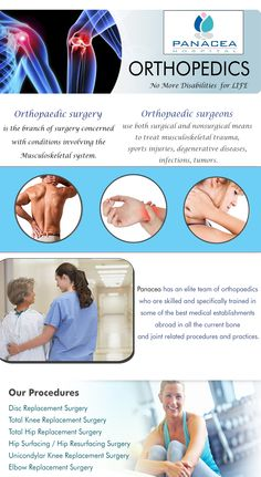 Panacea has an elite team of orthopaedics who are skilled and specifically trained in some of the best medical establishments abroad in all the current bone and joint related procedures and practices