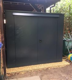 """""""The Asgard Trojan shed is a quality item that provides secure outdoor storage for your belongings...I am using the shed, with the help of a number of accessories sold by Asgard, to store a bicycle, power tools, car washing equipment and garden tools. It looks very smart and I am confident that it will stand up to all kinds of weather conditions along with any thieves that might want to have a go at it. Top marks. Thanks Asgard."""" - Tristan. #bikeshed #bikestorage #gardenshed #sheds…"""