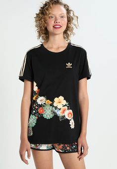 adidas Originals JARDIM  - Printtipaita - black : 44,95 € (11.9.2017) Zalando.fi-verkkokaupasta.   ....   KOKO 40