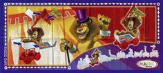 "Alex il leone dal film ""Madagascar 3"" (2012) targato DreamWorks Animation e Kinder (codice MPGDC216). #Kinder #Madagascar #Madagascar3 #Dreamworks"