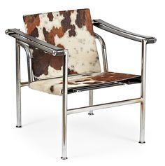 "Le Corbusier ""LC1"" Chair | Balclis Barcelona   www.balclis.com  #Lecorbusier"